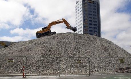 Cities: Christchurch 3, digger 2013