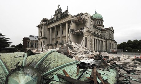 Cities: Christchurch 5, cathedral 2011