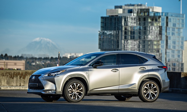 on the road lexus nx 300h f sport technology the guardian. Black Bedroom Furniture Sets. Home Design Ideas