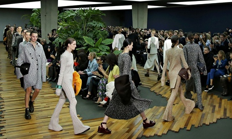 Phoebe Philo's show for Céline at Paris fashion week.