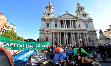 Occupy London protest at St Paul's faces action from City ...