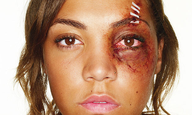 Dating a battered woman went 4