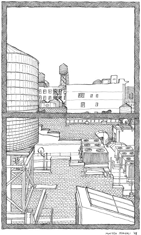 Matteo Pericoli And His Drawings Of New York City