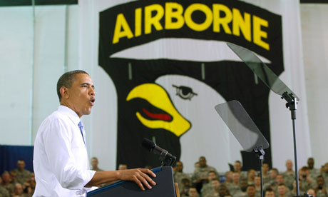 President Obama at Fort Campbell
