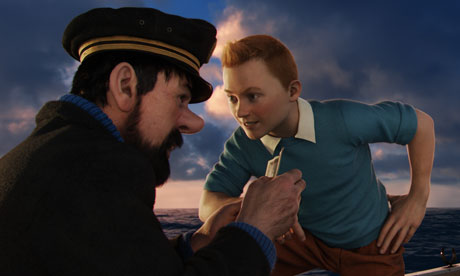 Still from The Adventures of Tintin: The Secret of the Unicorn