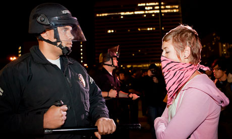 Occupy Los Angeles protesters face eviction