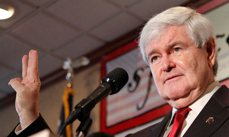 Newt Gingrich in Miami, Florida