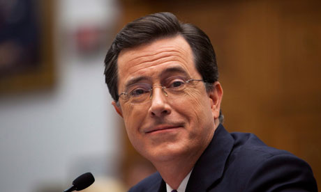 Stephen Colbert: lining up a presidential bid?
