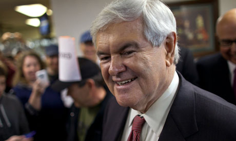 Newt Gingrich at Tommy's Country Ham House