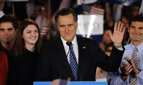 Mitt Romney speaks after coming second in South Carolina