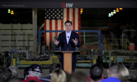 Mitt Romney struggled to draw the crowds in Tampa