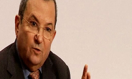 Ehud Barak talks at Davos 2012