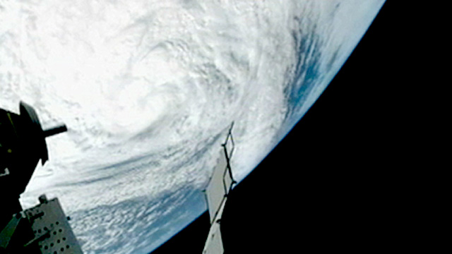 hurricane sandy from space station - photo #9