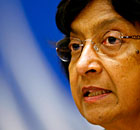 Navi Pillay Syria discussion