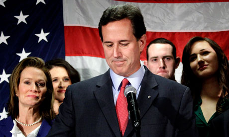 Rick Santorum announces he is quitting GOP race