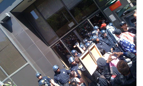 Occupy Oakland Wells Fargo