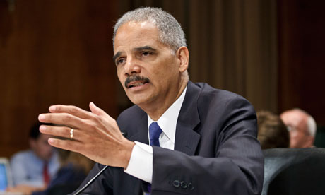 Eric Holder, US attorney-general