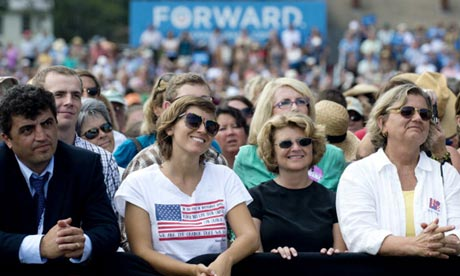 Obama supporters in New Hampshire
