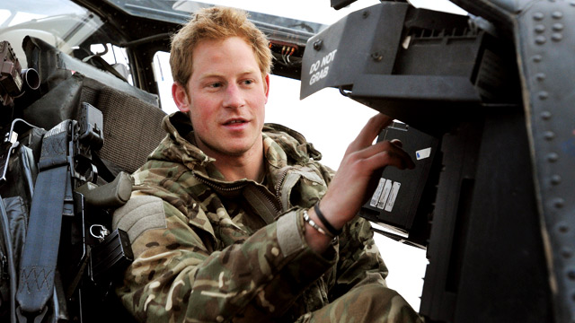 Image result for prince harry in afghanistan images