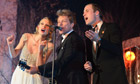 Prince William sings with Taylor Swift and Jon Bon Jovi