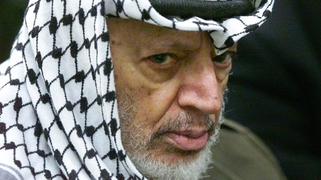 yasser arafat may have been poisoned with polonium tests show
