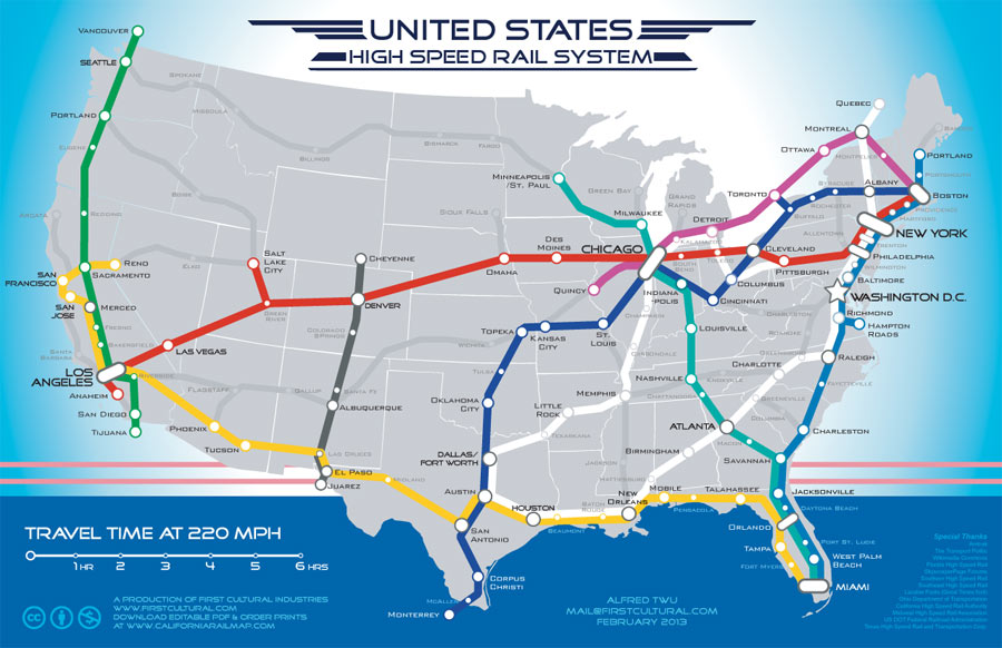 From Sea to Shining Sea – By Rail | theDiagonal