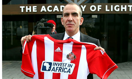 Paolo Di Canio at The Academy of Light training ground