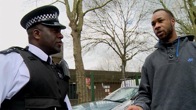 Black police officers uk