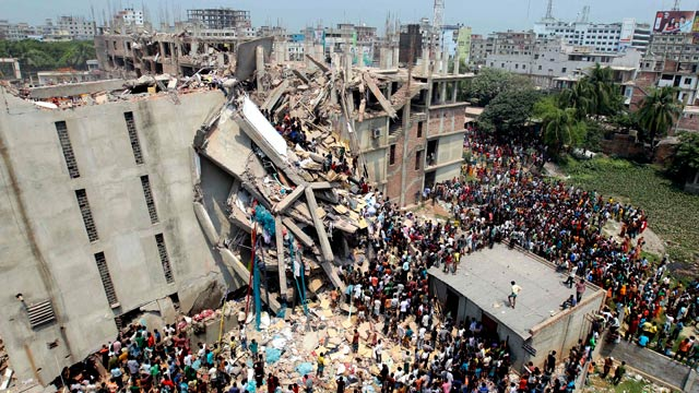 Image result for collapse of factory in Bangladesh images