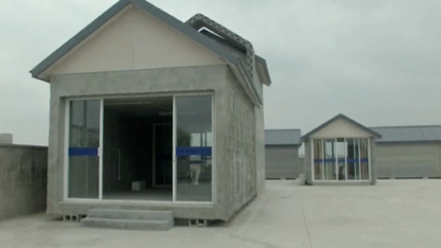 3d printer builds houses in china video technology - How to get a 3d printed house ...