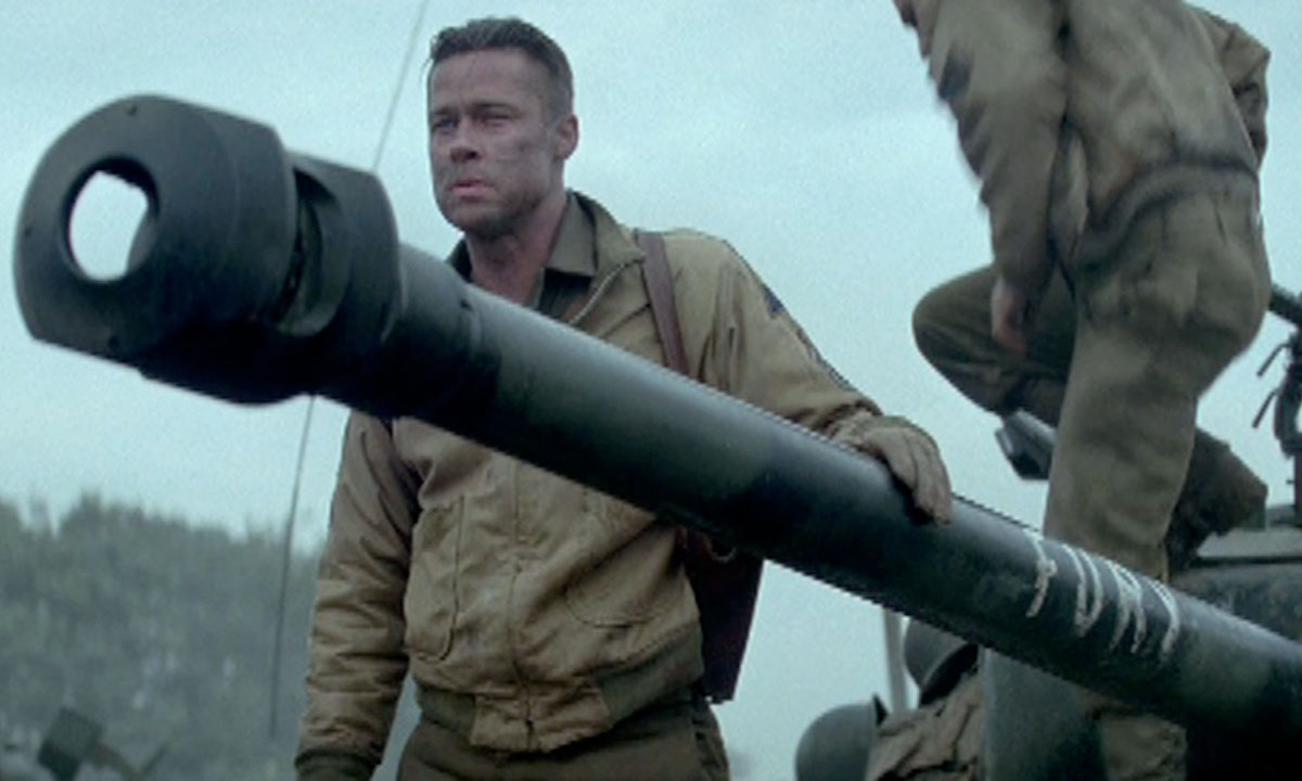 David Ayer Theres Something Maternal About The Tank In Fury - New official trailer fury starring brad pitt