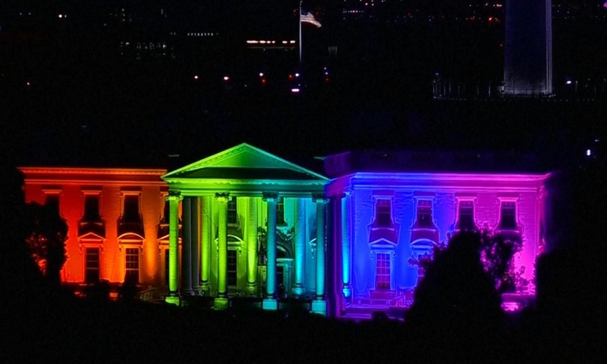 light gay support blue