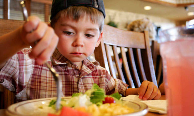 Burgers And Nuggets Still Dominate Uk Restaurant Children