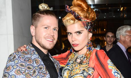 Karl Willet and Paloma Faith