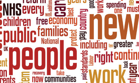 Labour manifesto wordles