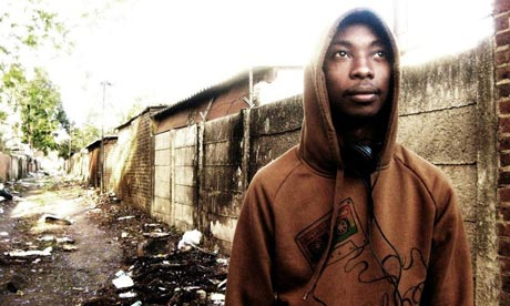 Synik, rapper from Zimbabwe