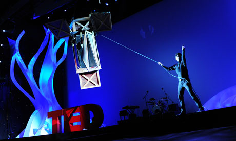 Franz Harary, a magician, performs at last year's TED