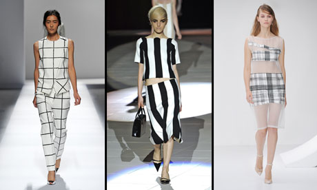 Fashion Goes Square 2013 S Cool Straight Lines Fashion