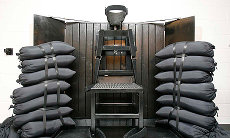 Ronnie Lee Gardner's execution chamber