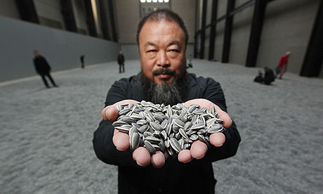 Chinese Artist Ai Weiwei At The Tate Modern