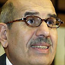 Director General of the International Atomic Energy Agency (IAEA) Mohamed ElBaradei