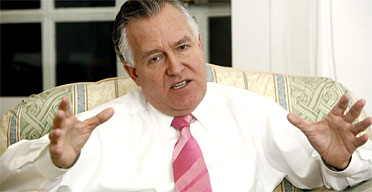Peter Hain, the secretary of state for Northern Ireland. Photograph: Martin Argles/Guardian
