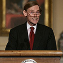 File photo of Robert Zoellick during his time at the US State Department in Washington.