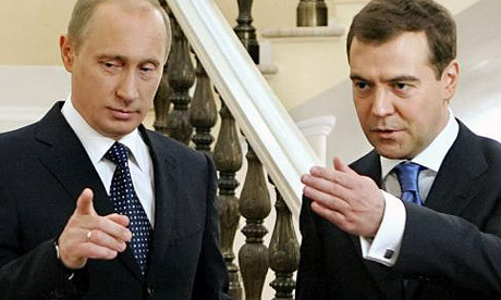 putin and medvedev relationship problems