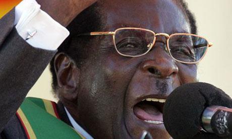 Robert Mugabe Angry!