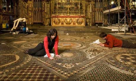 Carpet Of Stone Medieval Mosaic Pavement Revealed Art