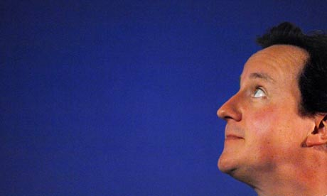 Conservative leader David Cameron speaks at the Relate Institute