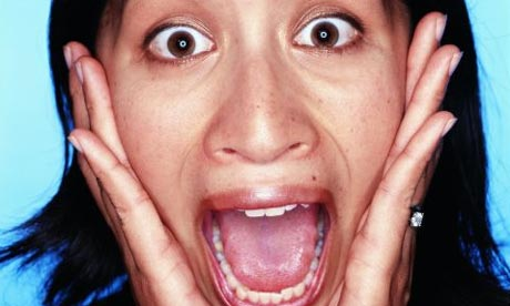 Face of fear: how a terrified expression could keep you ...