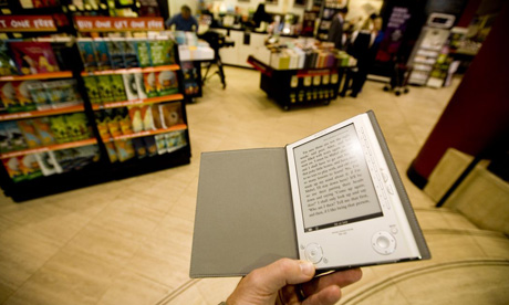 Sony Reader ebook in Waterstone's