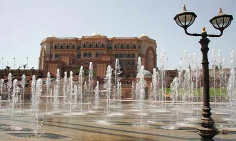 Emirates Palace Hotel in Abu Dhabi (UAE)